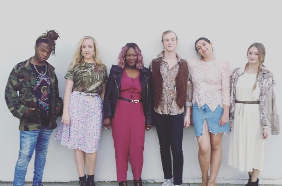 Big ups to @threadstodisco and @thirdeyevintage for the awesome threads. We came and conquered the runway. Hair/makeup via @gabbygarrison #chs #chsstyle #chsevents #vintage #vintagestyle