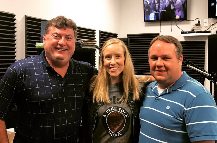 Mucho thanks to the gentlemen of i93.7 for having me this morning. We loved on @meganjeankfb, @jerryalanjacobs, and @honeysmokeband. . . . #listenlocal #chsmusic #chsblogger #musicblog #musicblogger #fridaymusic #discoteepee #localsonly
