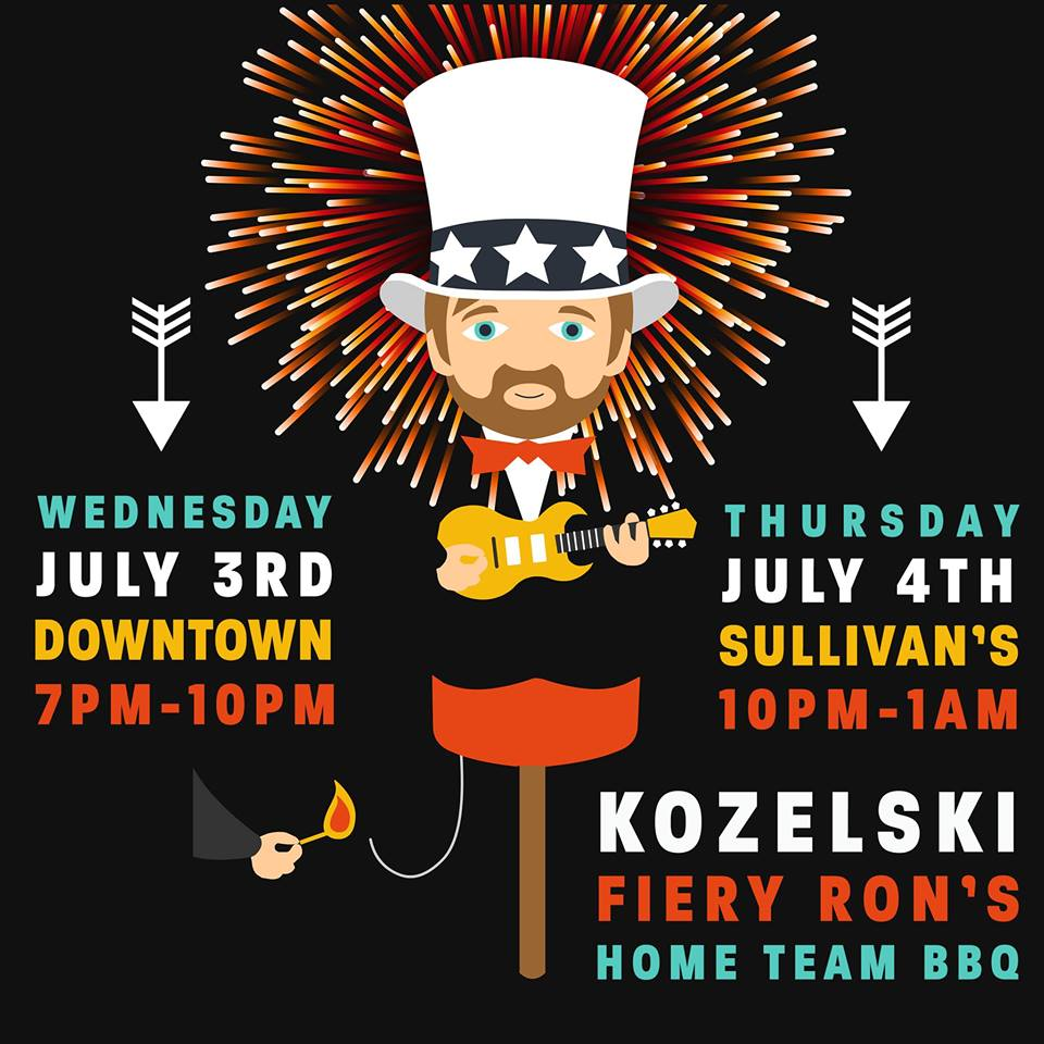 Kozelski band at Home Team BBQ for July 4th
