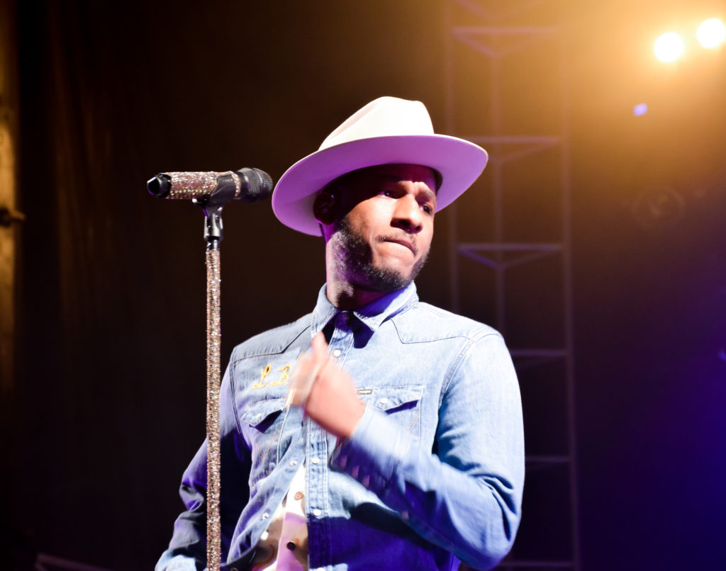 Leon Bridges headlining High Water Festival
